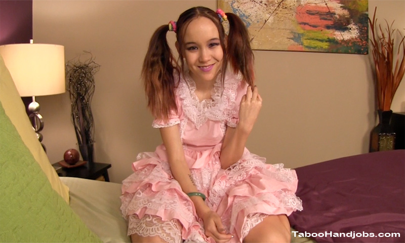 Amai liu in pigtails and stockings gets fucked pov - 1 part 9