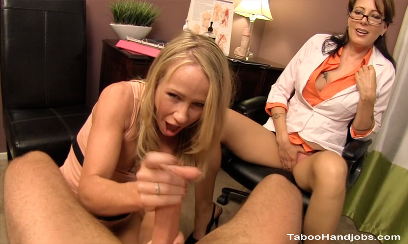 Step Mom Wakes Son Cock